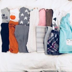 Baby girl 9 month fall and winter bundle